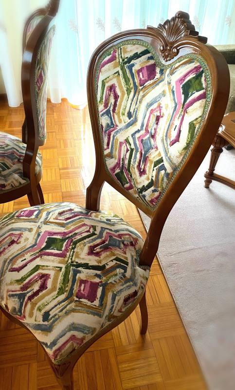 Trabajo de tapicería
